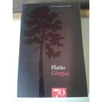 Livro Górgias, Platão, Editora 70, Edição Portuguesa