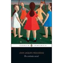 Livro Do Contrato Social De Rousseau - Novo