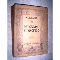 Dicionário Filosófico Voltaire 1937