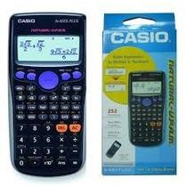 Calculadora Científica Casio Fx-82es Plus Bk 252 Funções