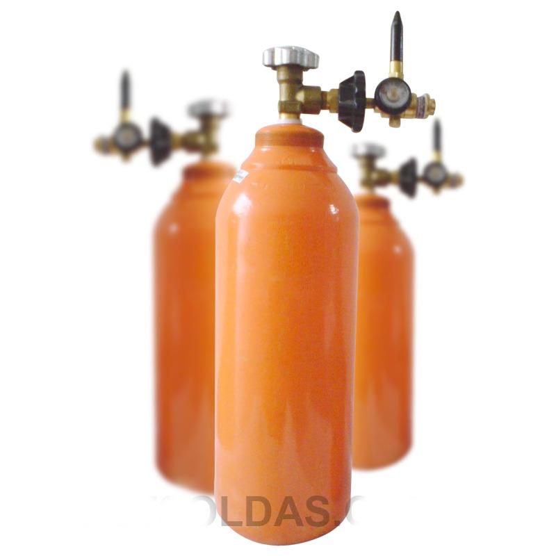 Cilindro de g s h lio 2m novo r 850 00 no mercadolivre for Valor cilindro de gas