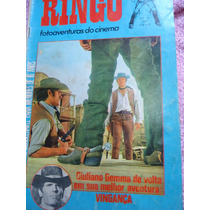 Revista Ringo - Giuliano Gemma - Western - Spaghety Faroeste