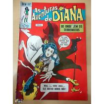 As Aventuras De Diana Nº 07-quem Foi ? Ebal-mulher Maravilha