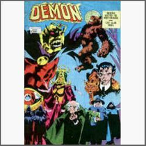 Demon. Criado Por Jack Kirby. Steve Ditko. Ebal. 1981