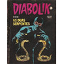 Diabolik Nº 1 - As Duas Serpentes - Ed. Vecchi - 1981