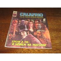 Calafrio Hq De Terror Nº 5 Ano:1982 Editora D Arte Original