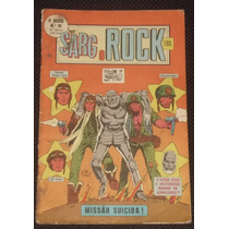 O Herói Nº 19 (2ª Série) - Sarg Rock - Ebal - 1979
