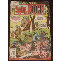 O Herói Nº 18 (2ª Série) - Sarg Rock - Ebal - 1979