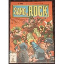 O Herói Nº 6 (2ª Série) - Sarg Rock - Ebal - 1978