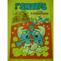Os Smurfs Abril Nº 3 Ano 1983 Original - Raridade Excelente