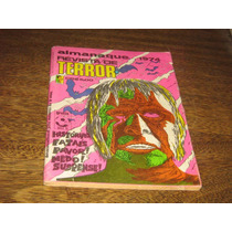 Almanaque Revista De Terror 1974 Editora Edrel Original