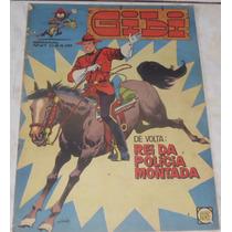 Gibi Semanal Nº 27 - Rge - Rei Da Polícia Montada, Peanuts