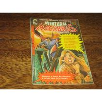 Aventuras Macabras Ano 1 Nº 10 Ano:1977 Ed.bloch Com Poster