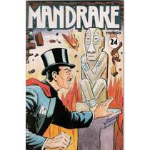 Revista Mandrake Nº 24 - Agosto De 1991- Ótimo Estado !!!