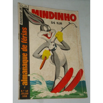 Almanaque De Férias De Mindinho Julho 1958 Ebal* Raro & Novo