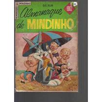 Almanaque De Mindinho De 1962 - Editora Ebal