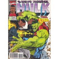 Hulk Nº 147, Ed. Abril, Versus Cage; O Motoqueiro Fantasma