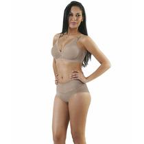 Cinta Modeladora Yoga Sem Pernas Com Cós Duplo 3006a