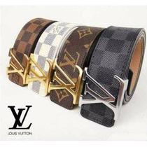Cinto Importado Louis Vuitton De Couro