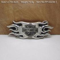 Fivela P Cinto Importada Harley Encontro Moto Honda Rock Cg