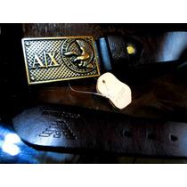 Cinto Giorgio Armani - A|x 100% Original * 100% Couro