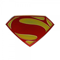 Belt Buckle Superman Man Of Logotipo Do Ícone Do Aço Bb0n8