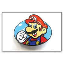 Belt Buckle Nintendo Super Mario Cara Do Metal Bb141481ntn