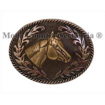 Fivela Country Cowboy - Cara De Cavalo