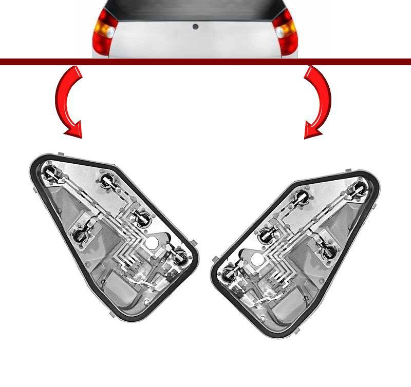Circuito Lanterna Traseira Palio : Circuito de lanterna traseira fiat palio