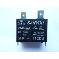 Relé Sanyou Mod.: Sfk-112dm 20a 250vac (kit Com 01 Unidade)