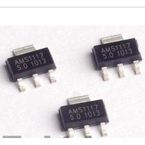 5 Peças Regulador Smd Ams1117 Sa1117 Lm1117 1117 3.3v
