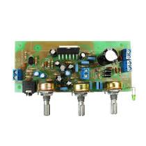 Kit Placa Circuito Amplificador 30w Com Pré Alfakits Montada