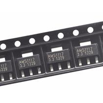 20x Ams1117 Regulador De Tensão Smd 3,3v 1a Sot-223 Arduino