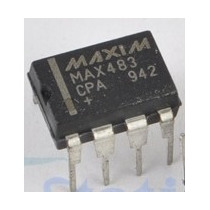 Circuito Integrado Max483cpa, Max483 Dip-8