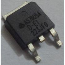 10 Peças C.i. As7805dtr-e 5v Regulador De Tensão Smd To-252