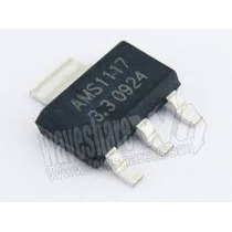 Ci Ams1117 Regulador De Tensão 5 X 5,0v + 5 X 3,3v = 10 Pçs