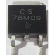 5 Peças C.i. 78m09 9v Regulador De Tensão Smd To-252