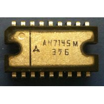 An 7145m Integrated Circuit Audio Amplifier 2x2 , 4w Dip18 P