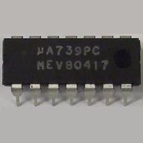 Ci - Ua739 Amplificador Operacional Dual Vintage - Ua739pc