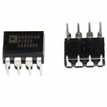 Ci Amplificador Operacional Ad620 Ad620an Ad620anz Dip8