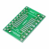Placa Ssop20 Sop20p Arduino Dip20