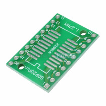 Placa Ssop20 Sop20p Arduino Dip20 Queima De Estoque