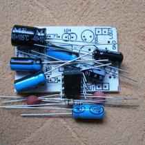 Kit De Eletrônica Para Montar Amplificador Tda2822 2x 2watts