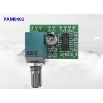 Placa De Mini Módulo Amplificador Estéreo Classe D 3+3 W Rms