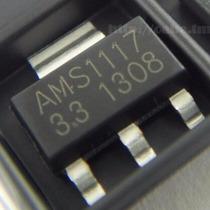 15 Peças Ci Ams1117 3.3v Regulador De Tensão Smd Sot 223