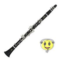 Clarinete Yamaha Ycl-255 Bb 17 Chaves Sistema Boehm Kadu Som