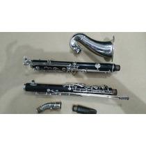 Clarinet Clarone Alto Contralto Eb Noblet Paris France Ebano