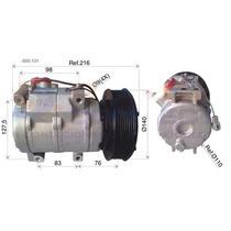 Compressor Trator Caterpillar 24 Volts Polia 8pk Oem-2457779