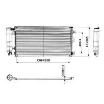 Condensador Celta Prisma 2007 A 2012 Original Novo Denso