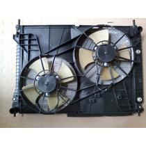 Kit Conjunto Radiador Condensador Eletro Chevrolet Captiva